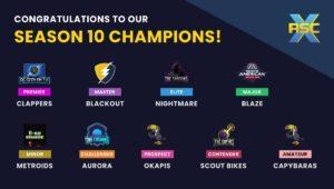 Season 10 Champions