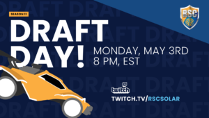 Draft Day - Monday May 3rd 8PM EST